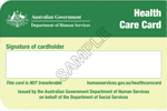 Services Australia Health Care Card